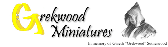 Grekwood Miniatures Logo