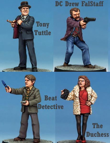 Tough Detectives