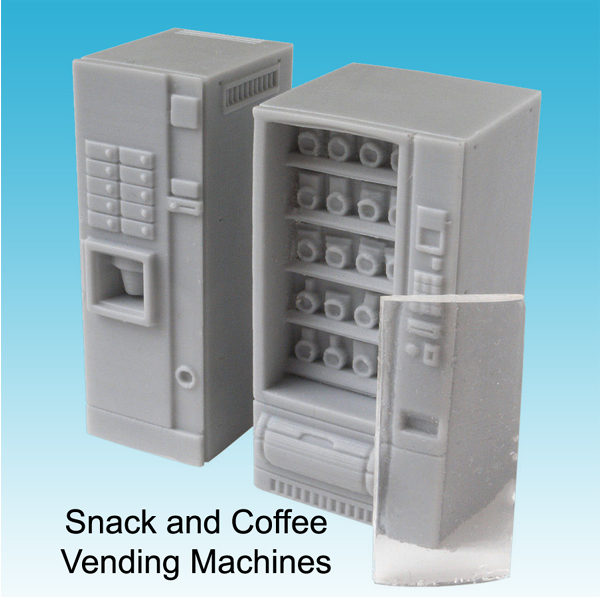 Snack and Cofee Vending Machines